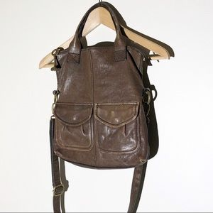 FOSSIL long live vintage leather shoulder bag